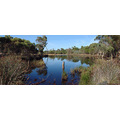 reflection lake panorama perth littleollie