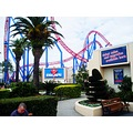 movie world gold coast Superman Escape roller coaster