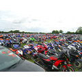Spectator parking at the Modello Stage of the BSB series. I call this 'Field of Dream Machines'