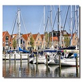 netherlands medemblik harbour water boat nethx medex harbn waten boatn