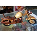 wooden handicraft motorcycle sawantwadi