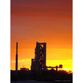 silhouetted sunrise factory perth littleollie