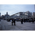 Taken at 3:35pm-Today at Nathan Phillip Square-Great weather high of 14.,Skating. ,Toronto,Ont.,O...