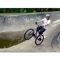 mtb mountainbike bike boy skakebowls wheelie