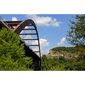 austin texas pennybacker bridge landscape