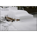 stlouis missouri us usa winter snow car Lincoln 10in 25cm yay 012011