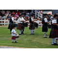 The youngest drummer at the Higland Games.