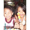 my son and daughter with 3rd and 6th b-day...