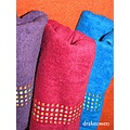 bright colors towels