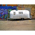 downtown graffiti airstream trailer urban