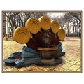 drinking fountain on the playground