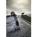 infrared infra red country road surreal verge dead man mans hill new forest