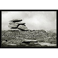 dartmoor tor backandwhite greyscale rocks