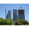 At 12:54pm.At Fort York-View of Downtown Toronto-On Saturday,May 25,2013