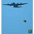 stlouis missouri us usa event airshow airplane ScottAFB parachutes 2007