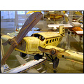 plane airplane museum old antique tin play toy