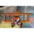 wooden handicraft aircraft sawantwadi