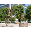 Art Statue John Stockton SLC Salt Lake City Delta Center Utah Jazz